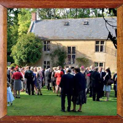 location for outdoor and marquee party near Yeovil